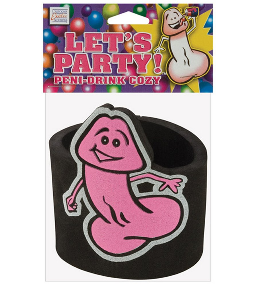 Let's Party! Penis Drink Koozie