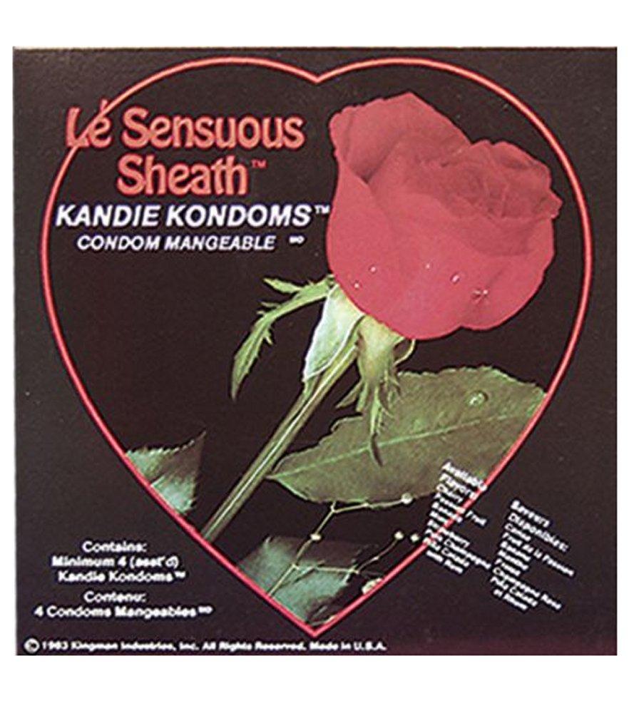 Le Sensuous Sheath Kandie Kondoms