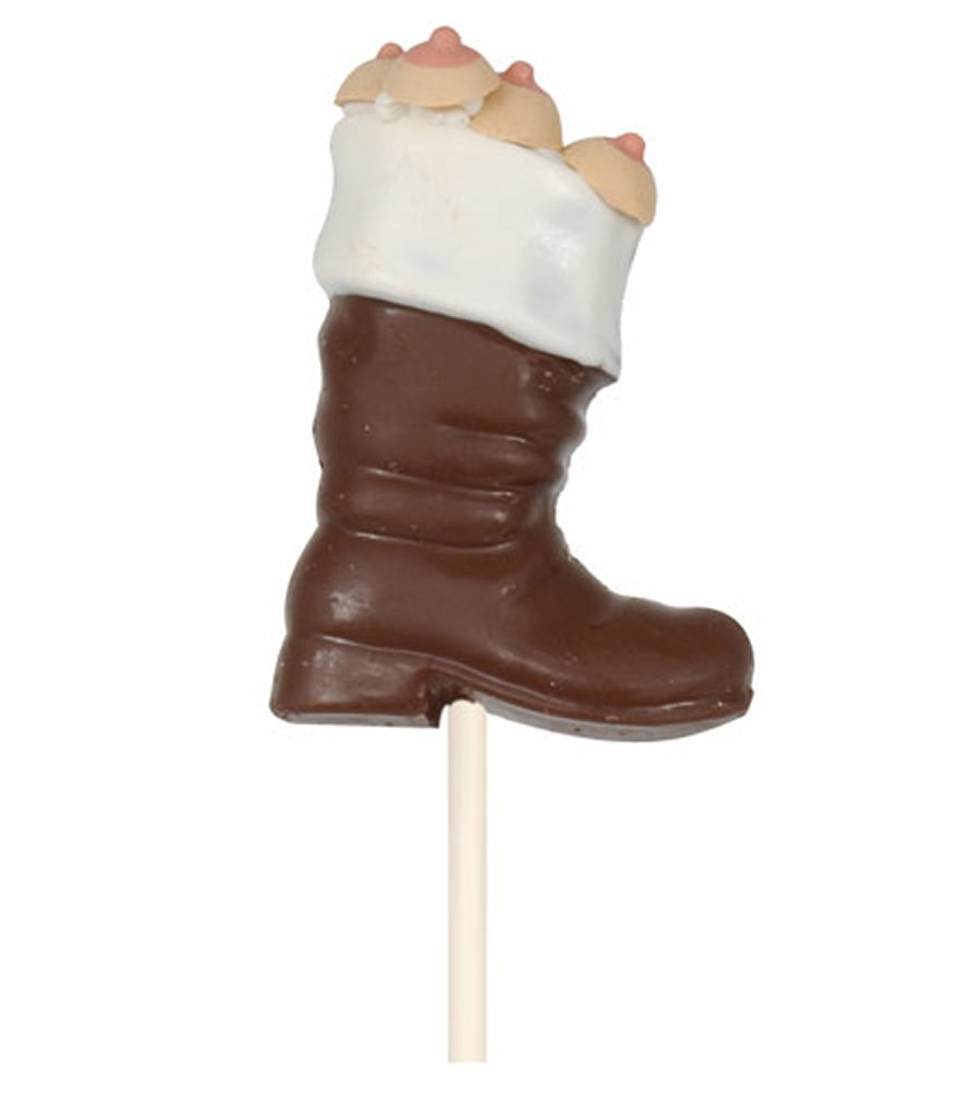 Santa's Boot with Boobies on a Stick