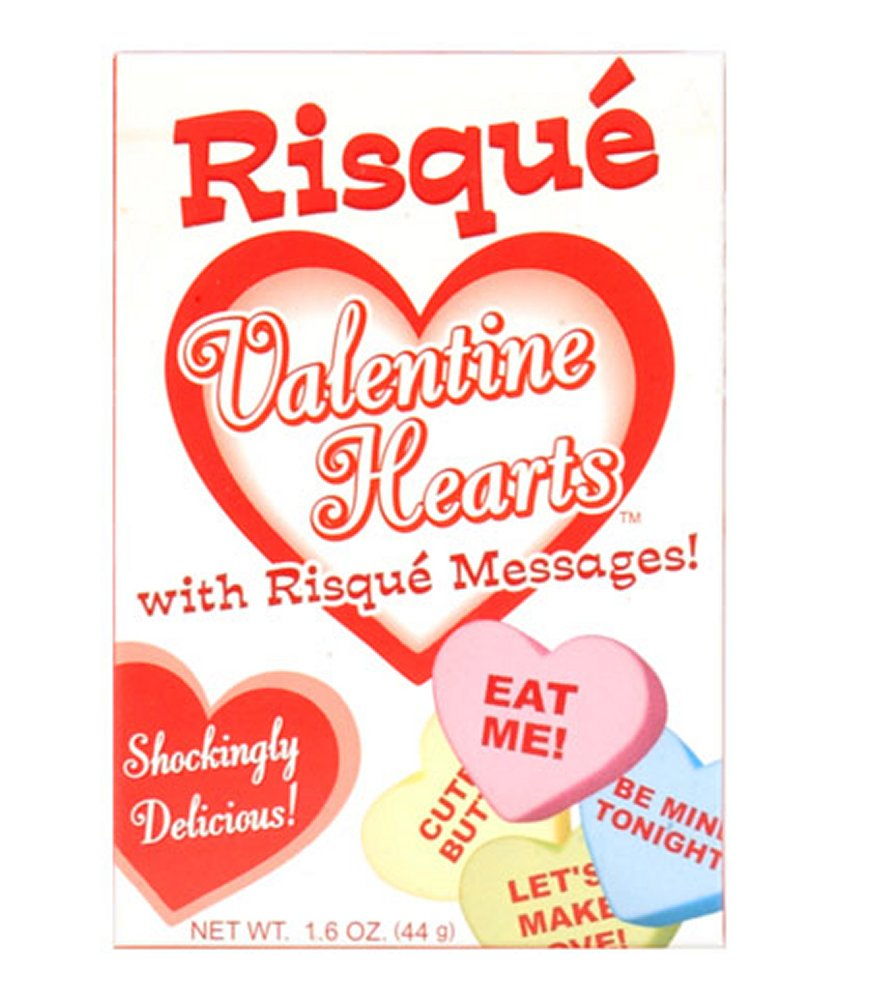 Risque Valentine Hearts Candy