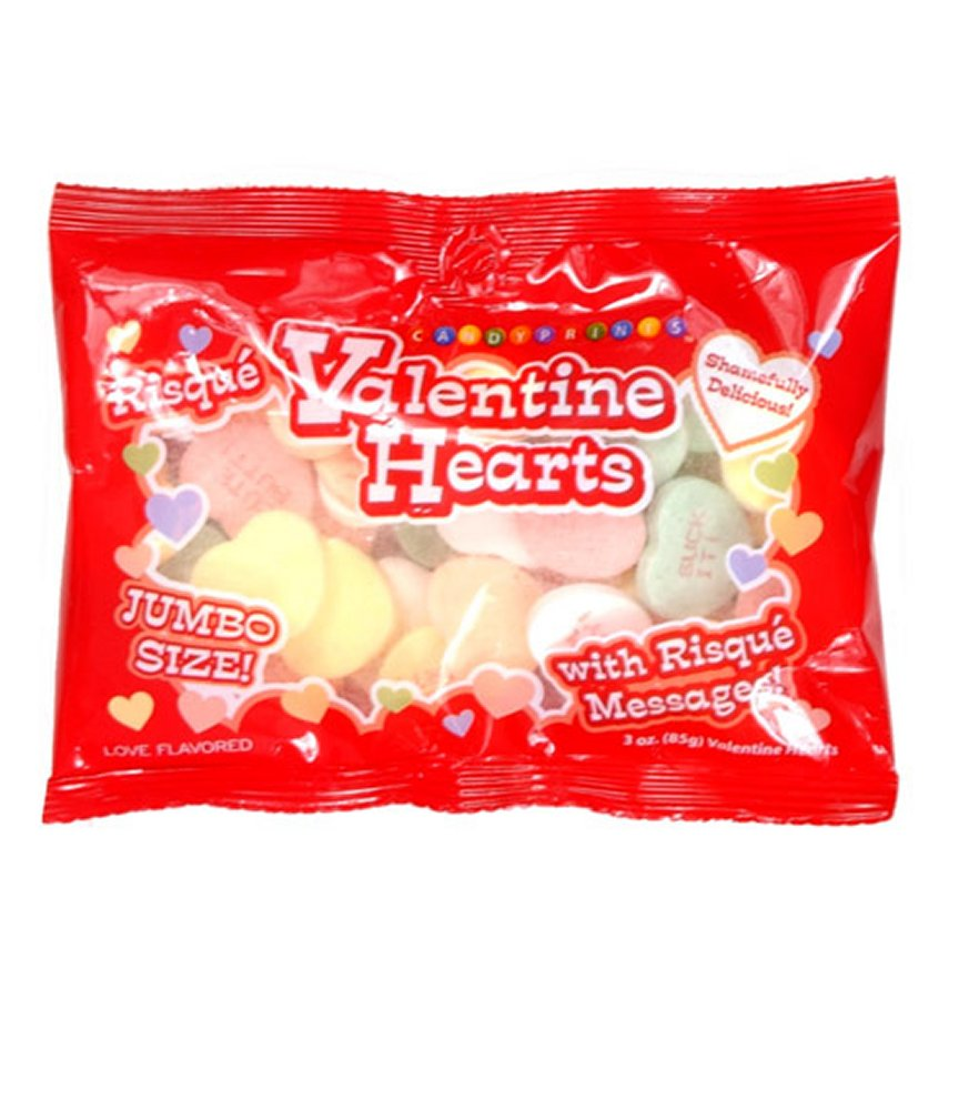 Risque Valentine Jumbo Hearts Candy