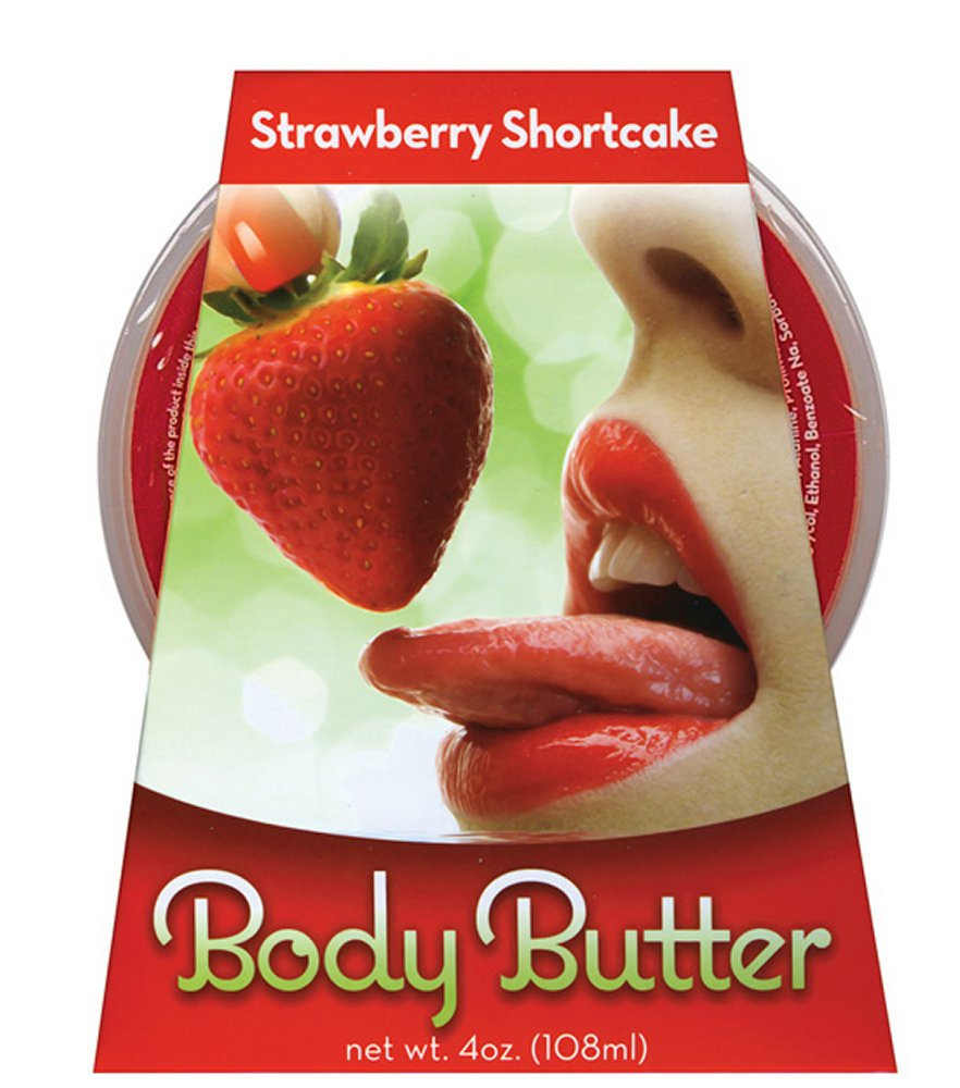 Body Butter Strawberry Shortcake 4 oz