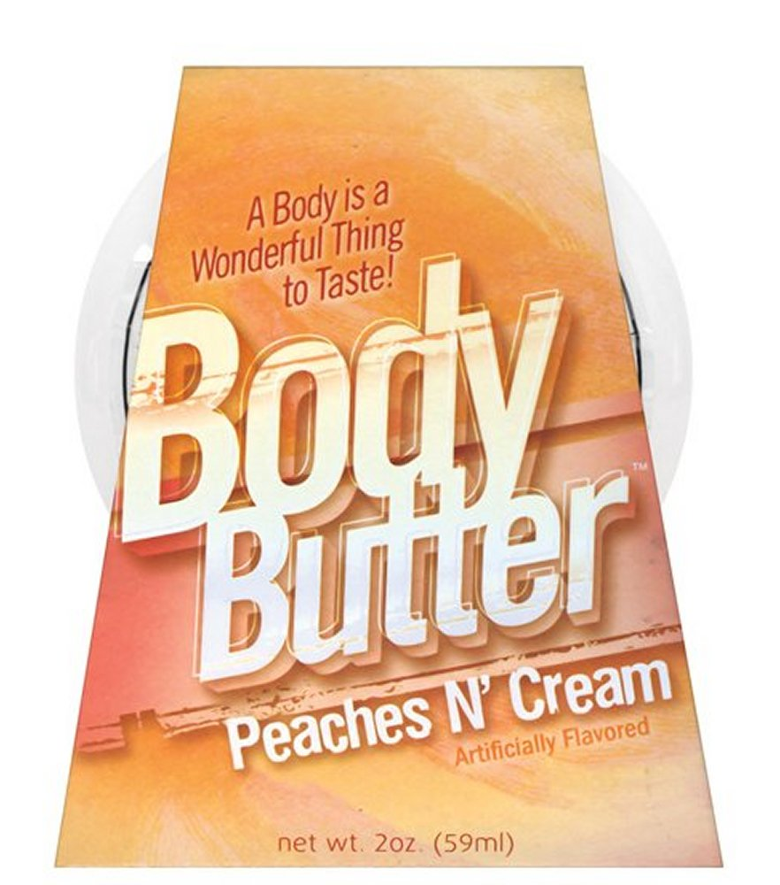 Body Butter Peaches & Cream 2 oz