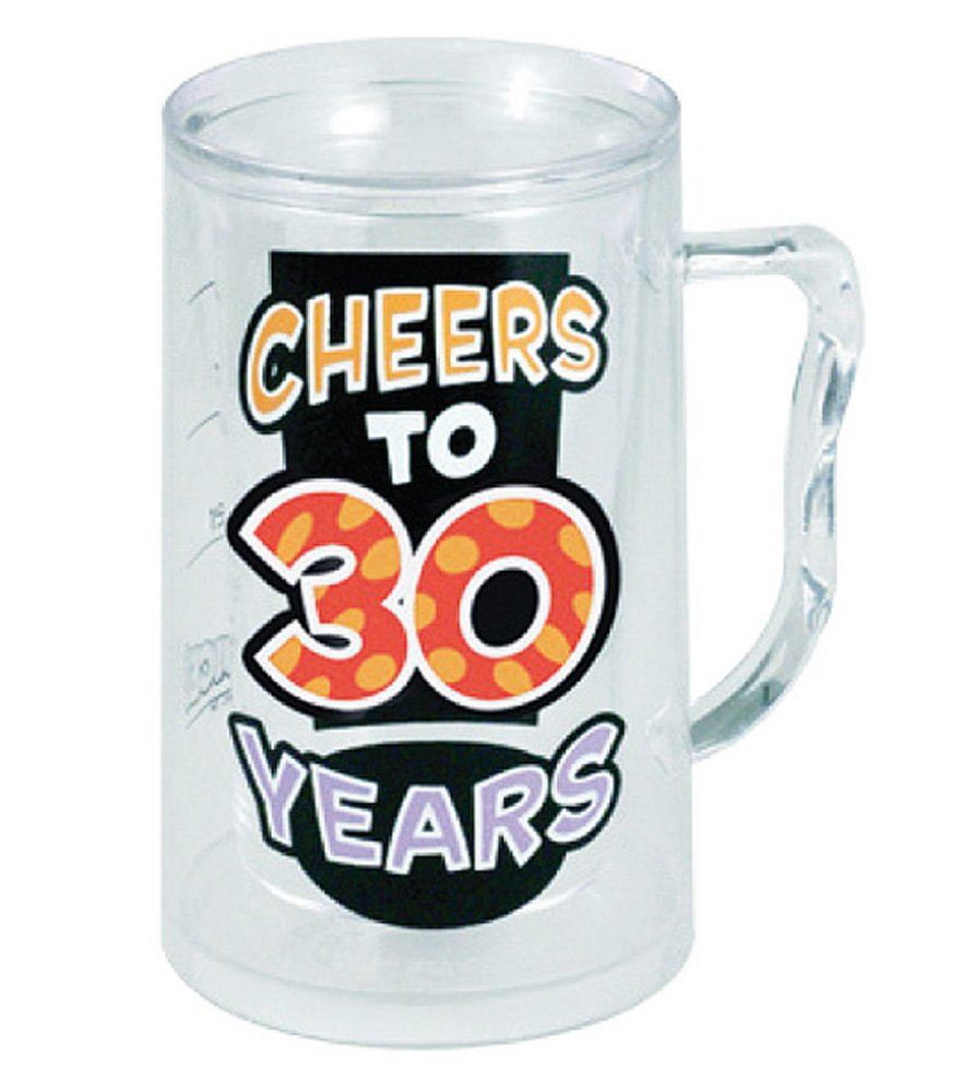 Cheers to 30 Years Tankard