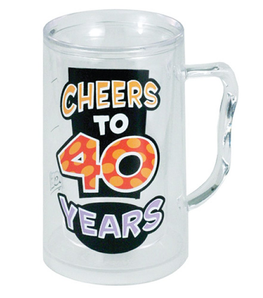 Cheers to 40 Years Tankard