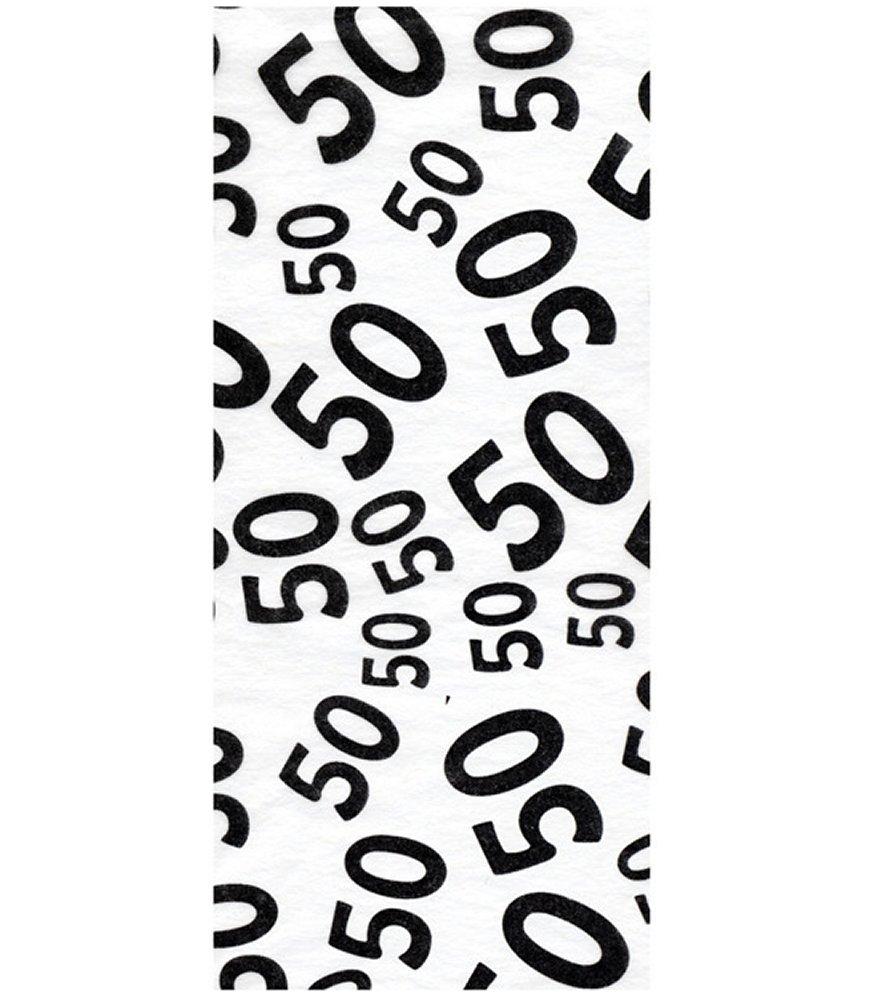 Age 50 Tissue Paper