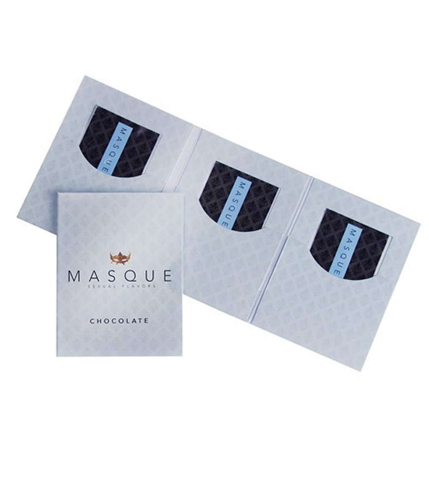Masque Chocolate Sexual Flavors Wallet Singles