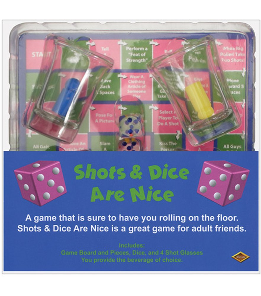 Shots & Dice are Nice Drinking Game