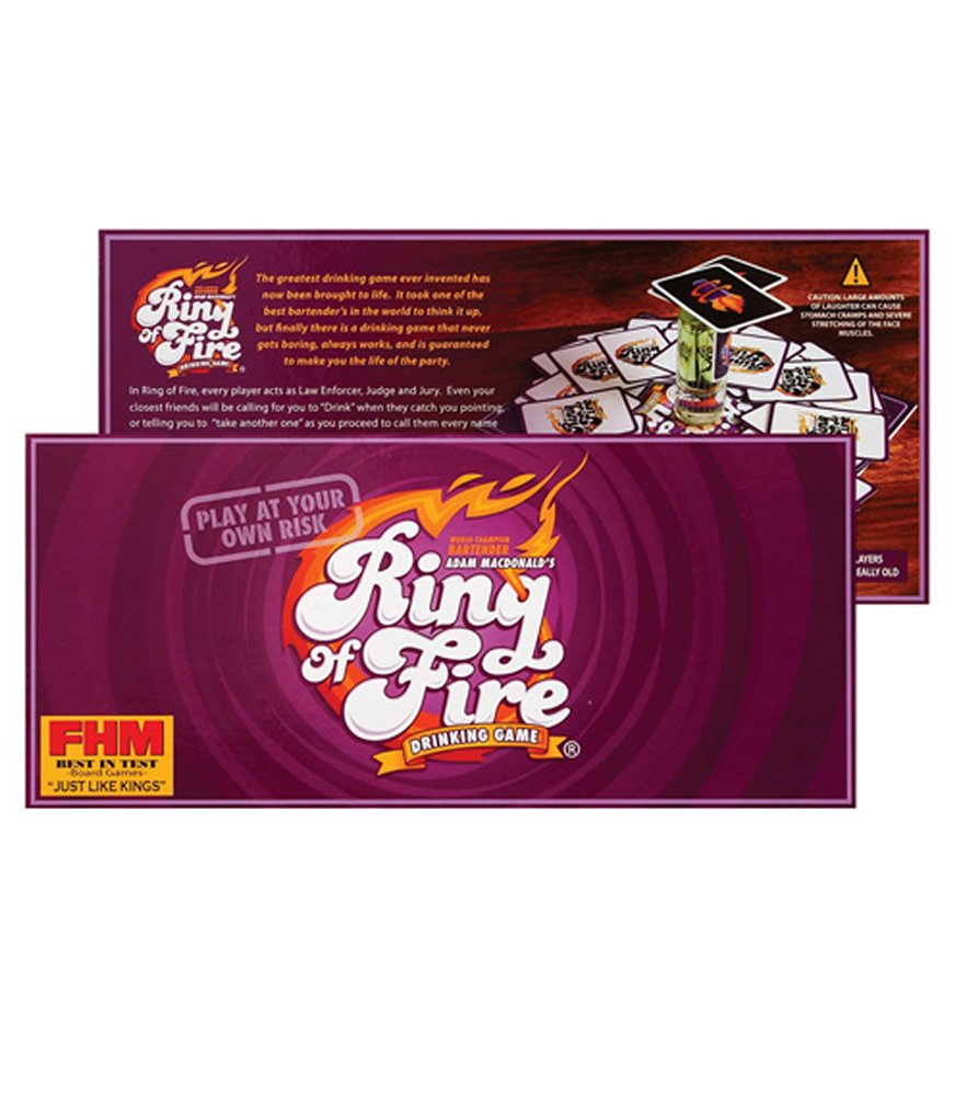 Ring of Fire Drinking Game