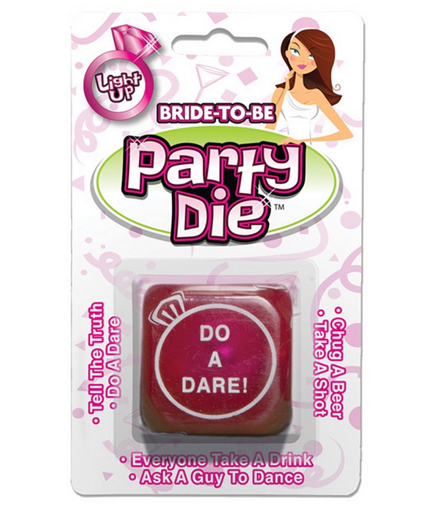 Light Up Bride To Be Party Die