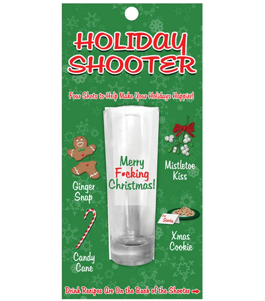 Holiday Shooter Shot Glass