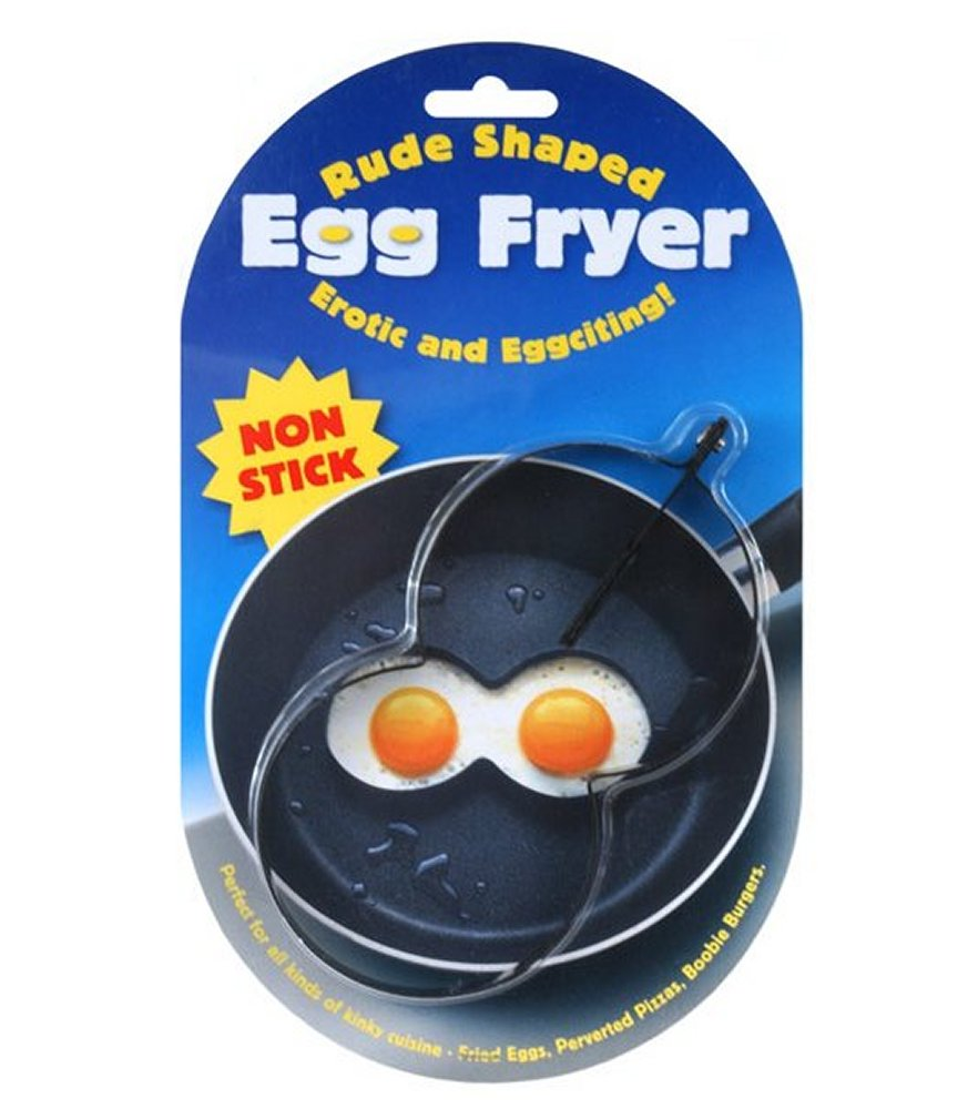 Boobie Shaped Egg Fryer