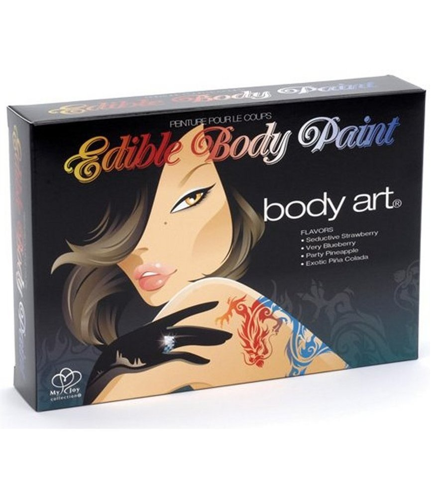 Body Art Edible Body Paints