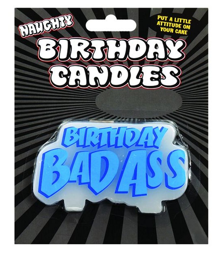 Birthday Bad Ass Candle