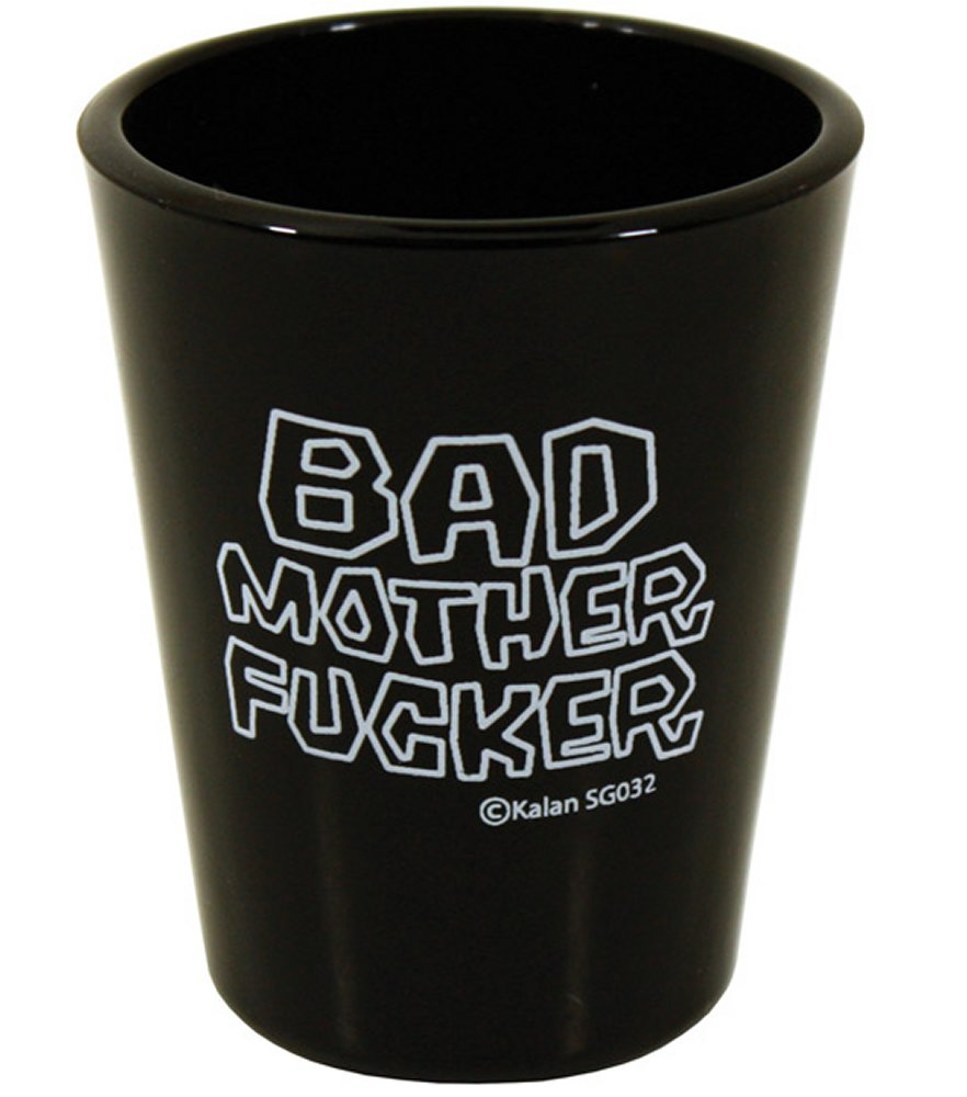 Bad Mother Fucker Black Shot Glass