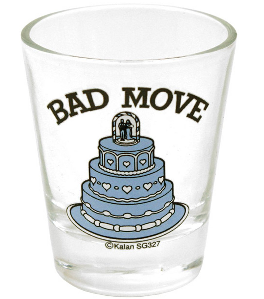 Bad Move Shot Glass