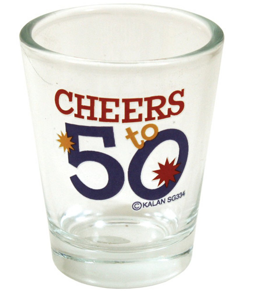 Cheers to 50 Shot Glass