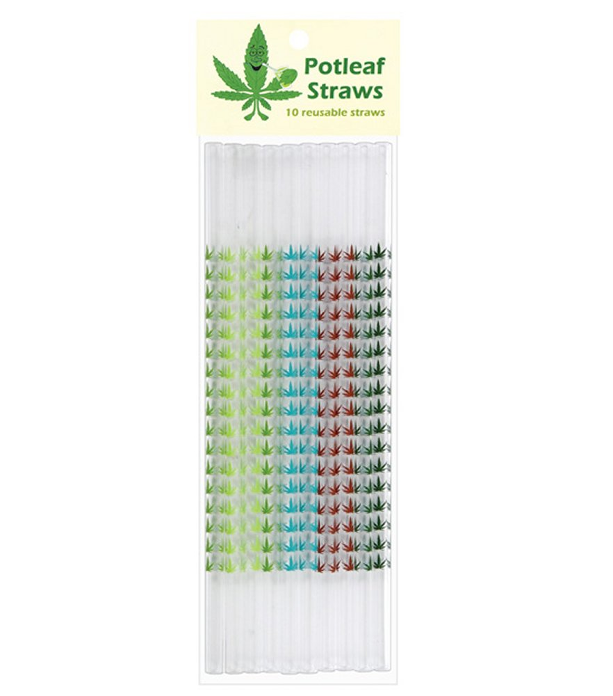Potleaf Reusable Straws