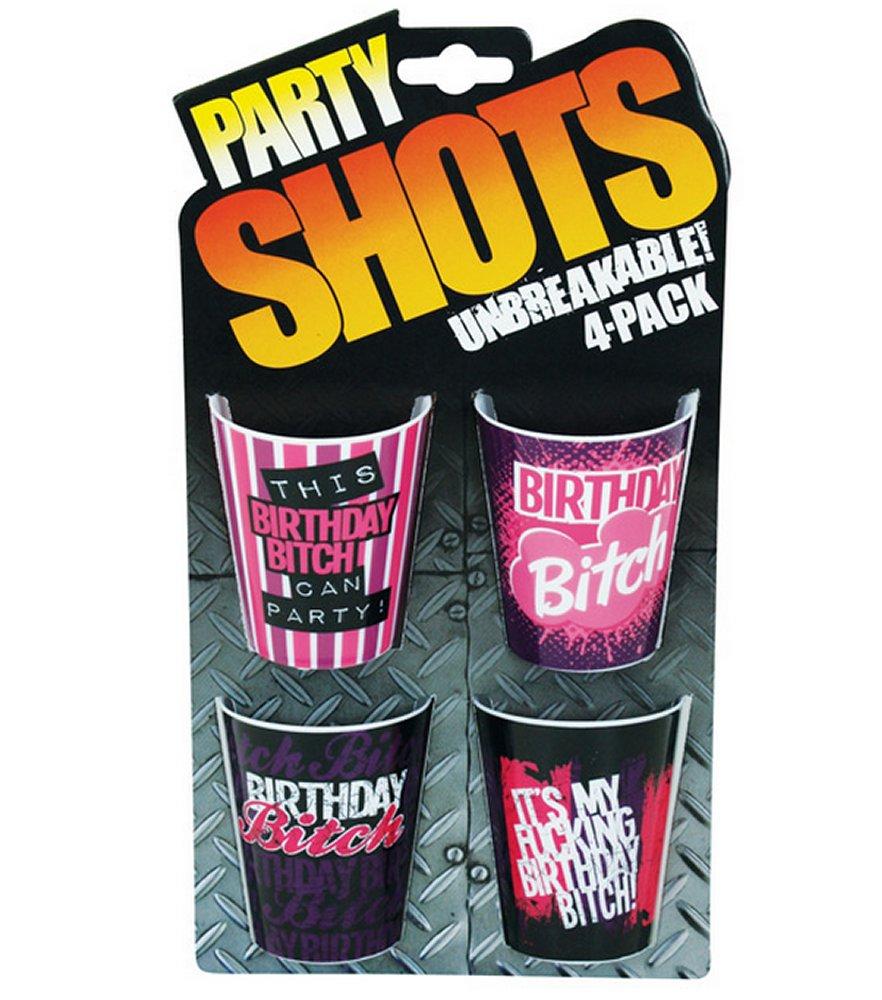 Party Shots Birthday Bitch Shot Glasses