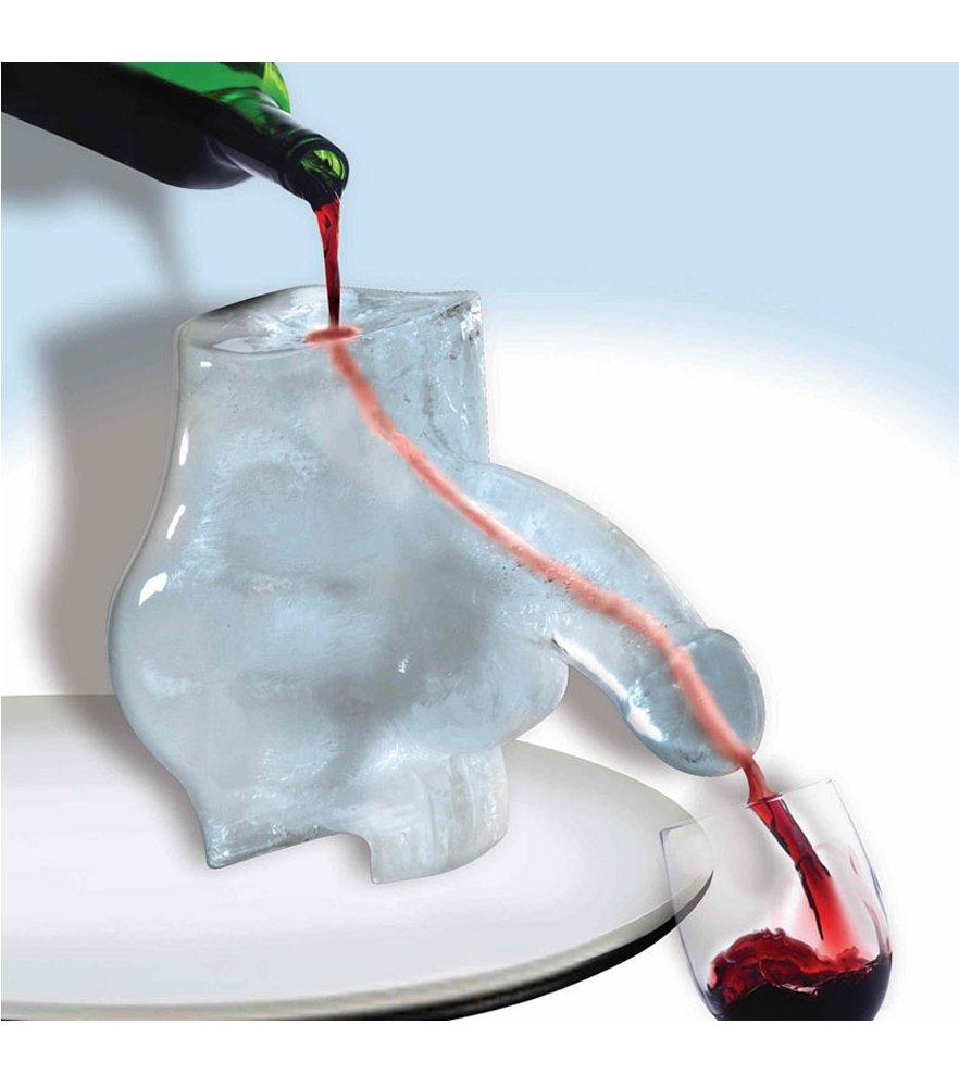 ice sculpture penis