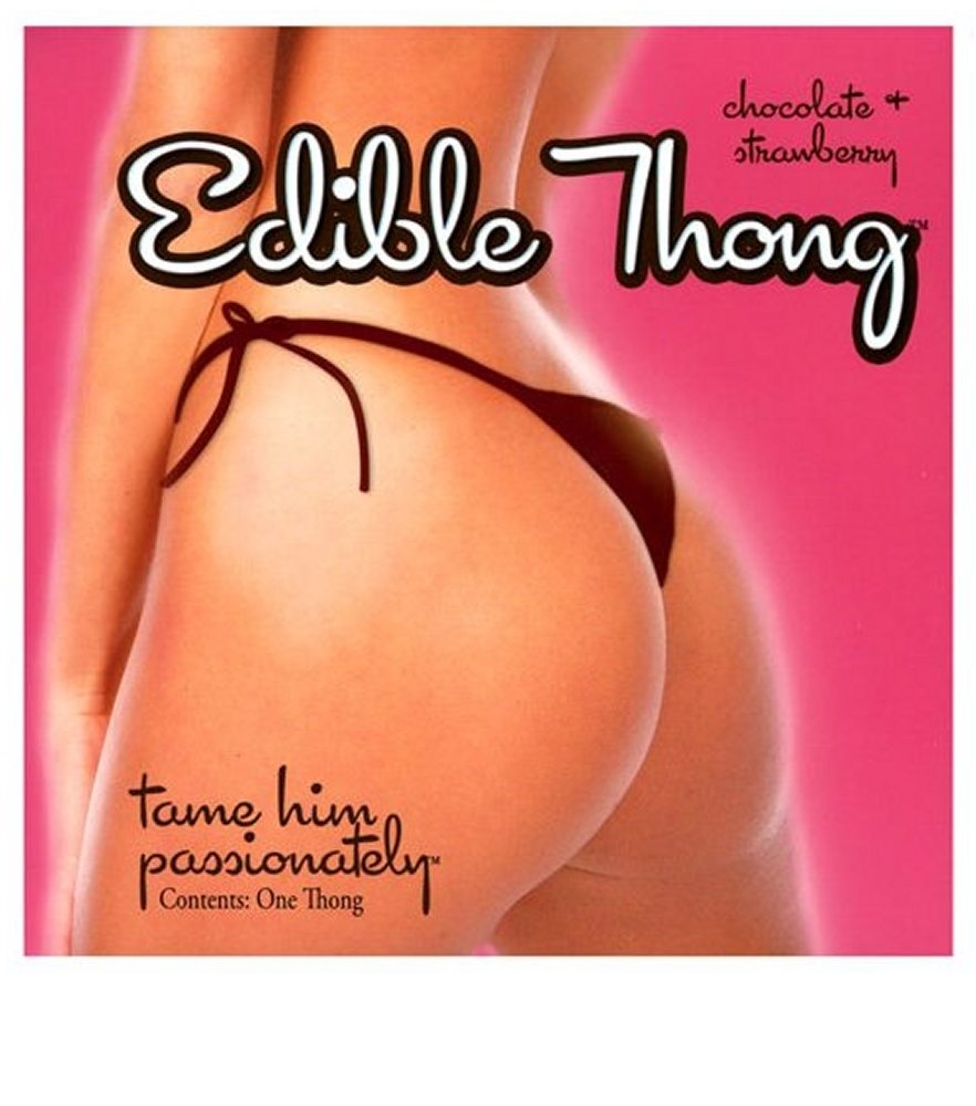 Chocolate & Strawberry Edible Thong