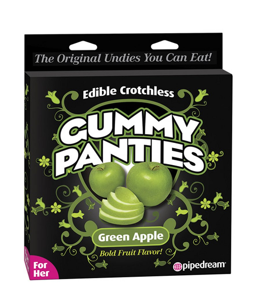 Edible Crotchless Apple Gummy Panty