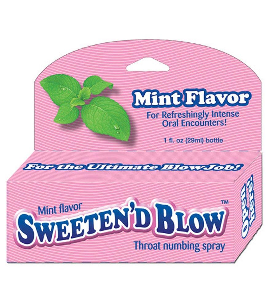 Sweeten'd Blow Mint Throat Numbing Spray