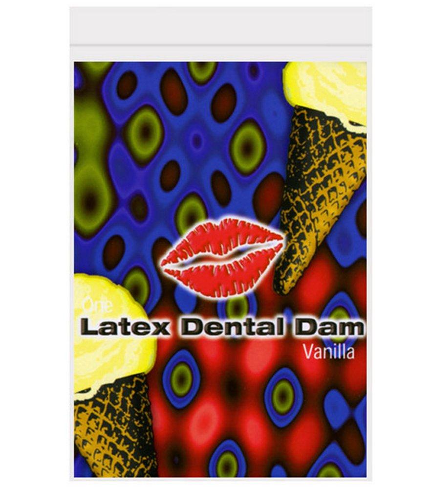 Vanilla Flavored Dental Dam