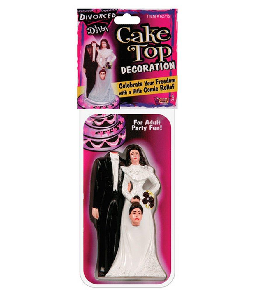 Divorced Diva Cake Topper