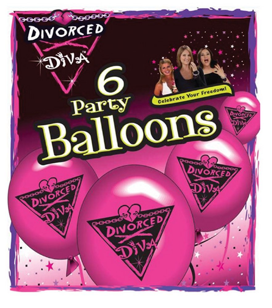 Divorced Diva Balloons