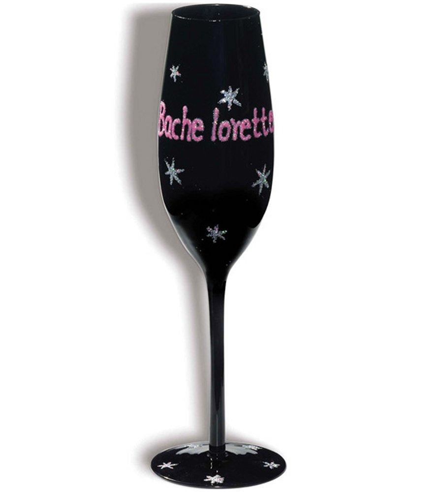 Bachelorette Champagne Flute