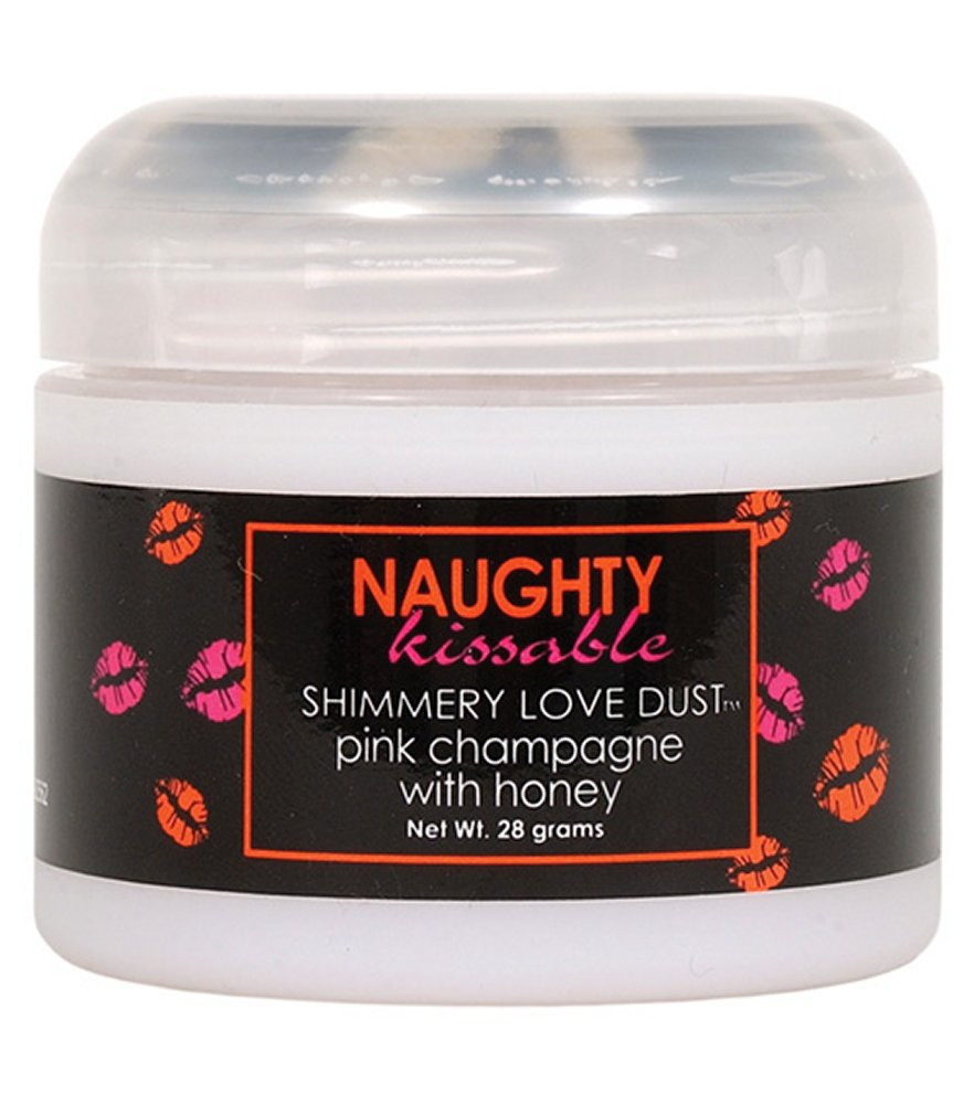 Naughty Kissable Pink Champagne Love Dust with sifter