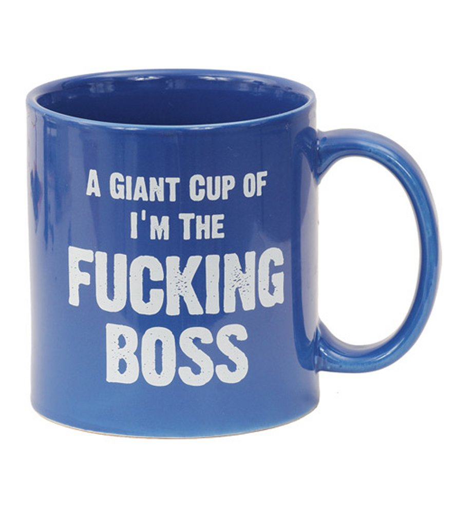 Attitude Mug A Giant Cup of I'm The Fucking Boss