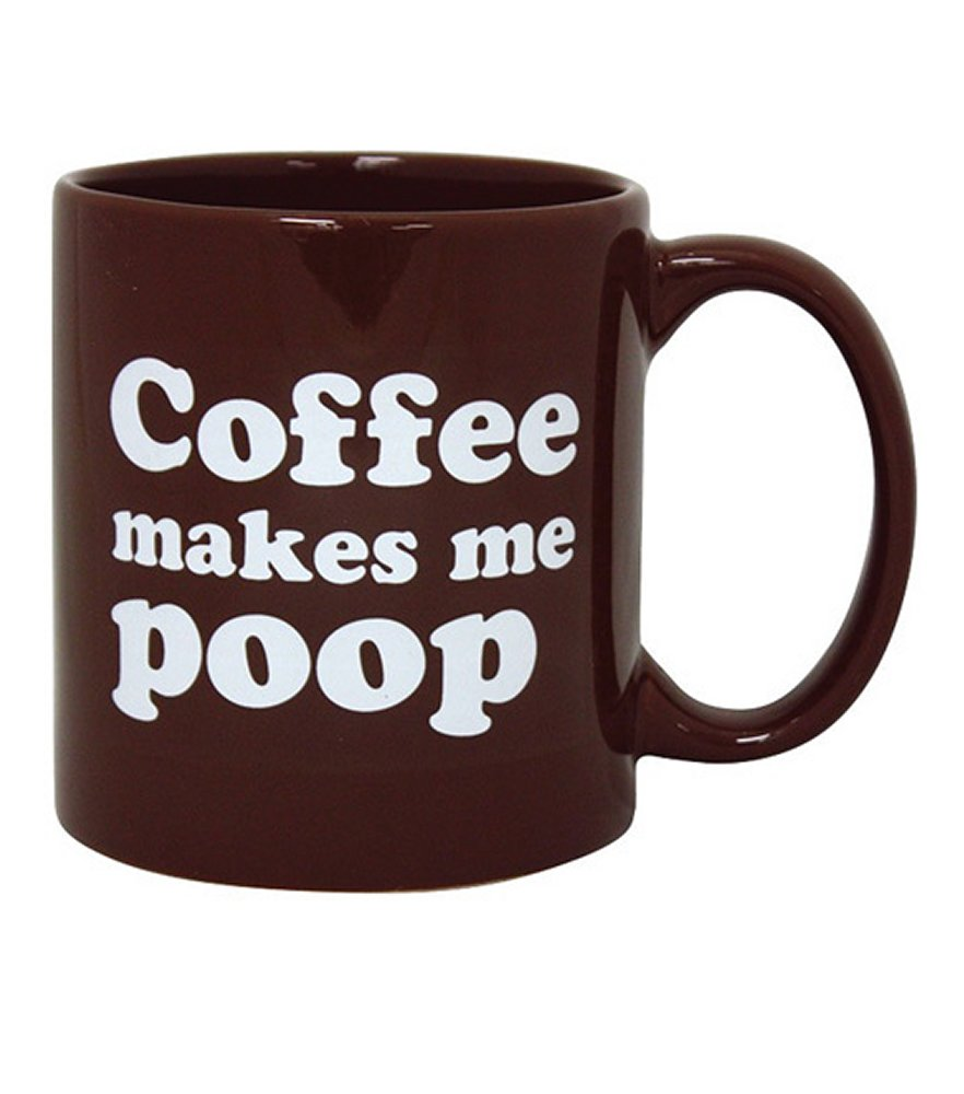 Attitude Mug Coffee Makes Me Poop
