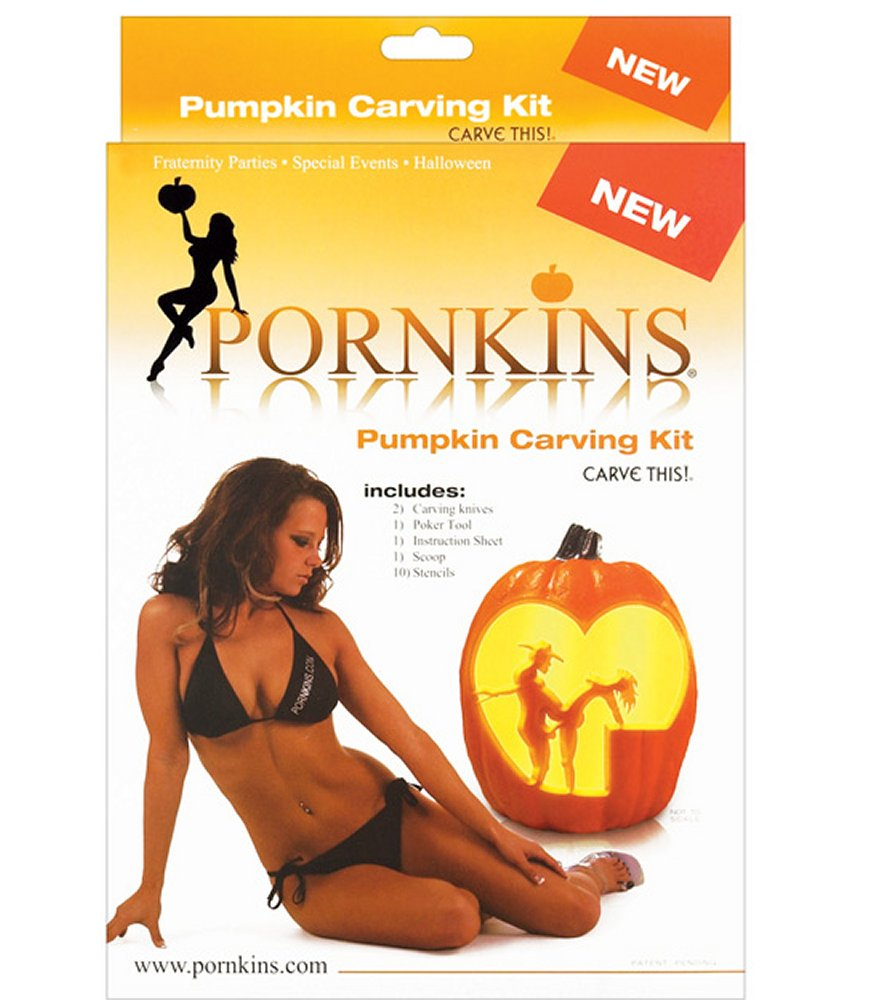 Pornkins Rated X Carving Kit