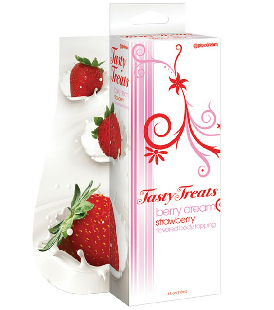 Berry Dream Strawberry Flavored Body Topping