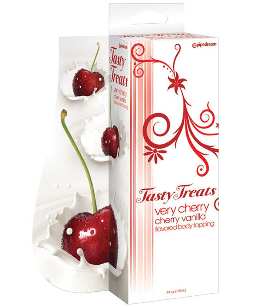Very Cherry Cherry Vanilla Flavored Body Topping