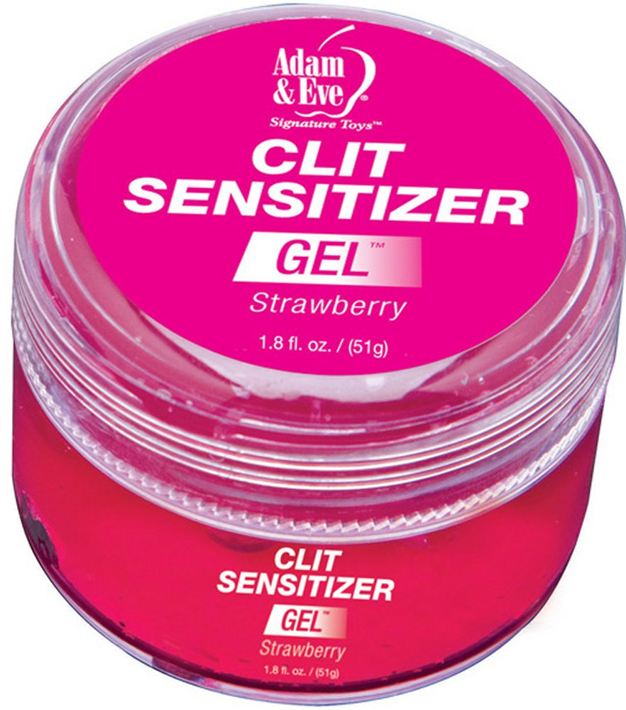 Adam & Eve Strawberry Clit Sensitizer Gel
