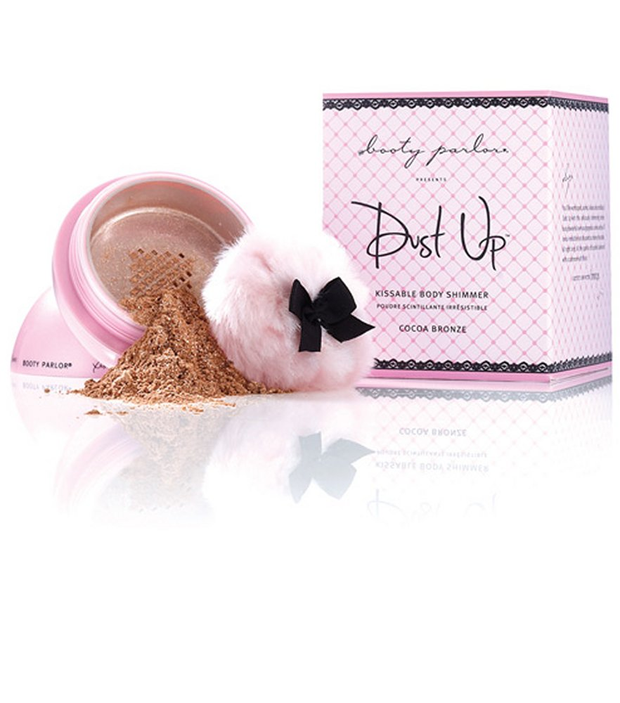 Booty Parlor Dust Up Kissable Cocoa Bronze Body Shimmer