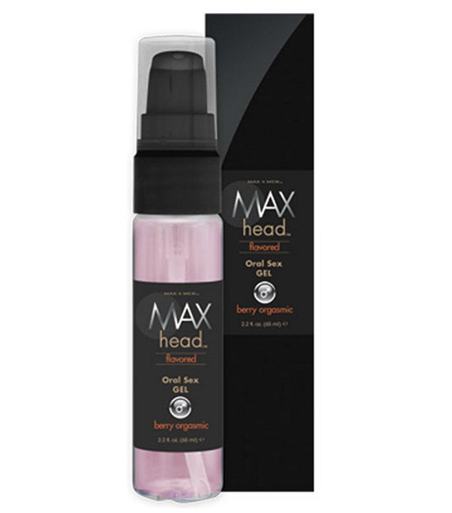 Max 4 Men Head Oral Sex Gel Berry Orgasmic
