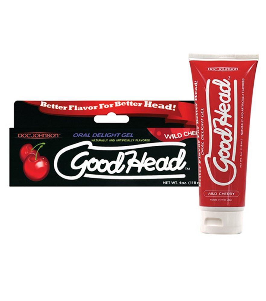 Good Head Wild Cherry Oral Gel