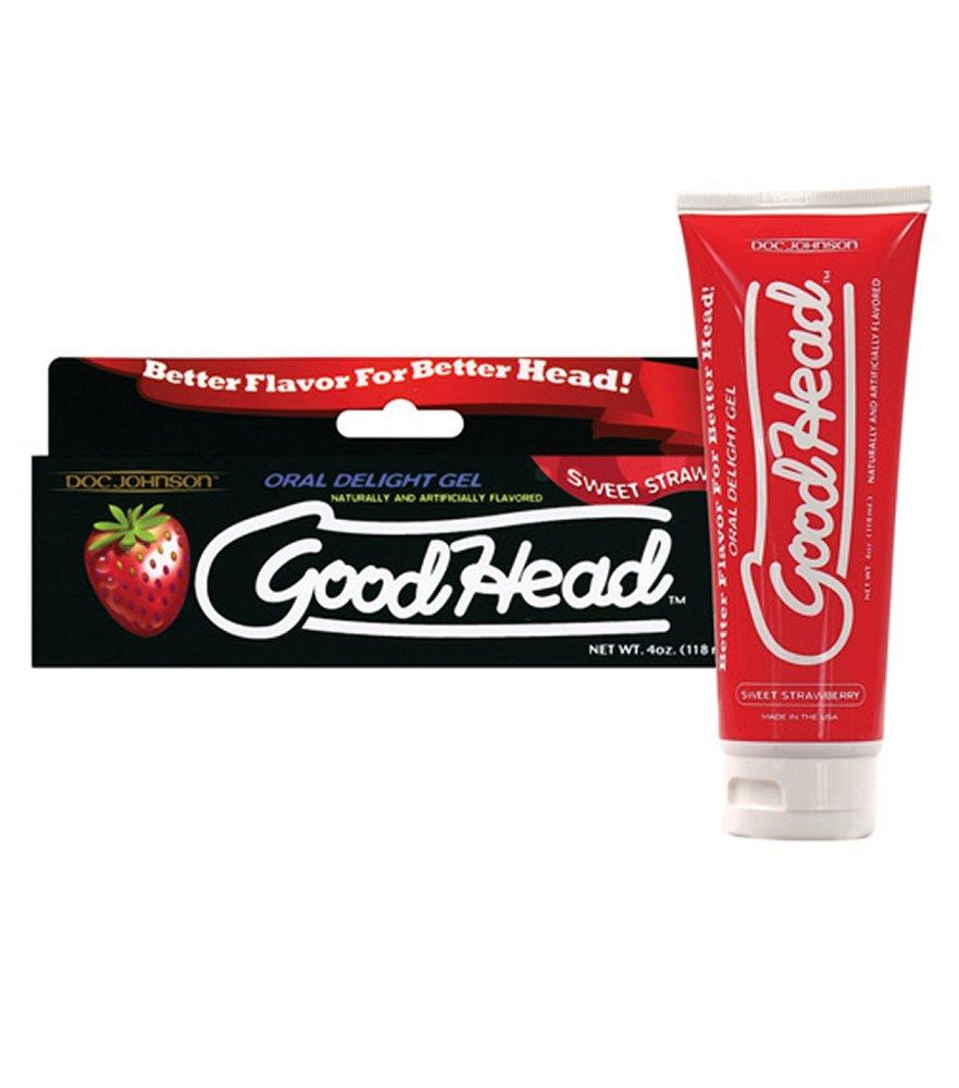 Good Head Strawberry Oral Gel