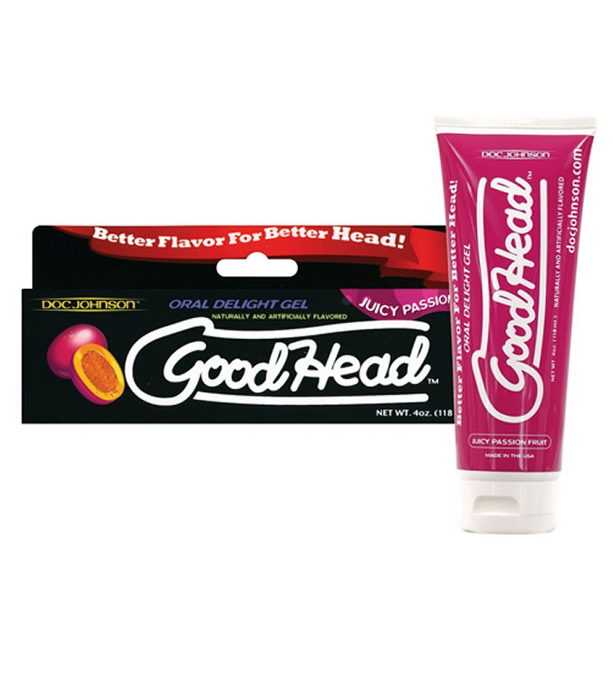 Good Head Passion Fruit Oral Gel