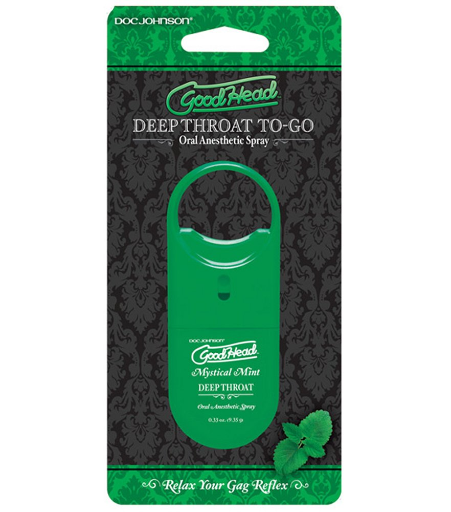 GoodHead Mint Deep Throat Spray to Go