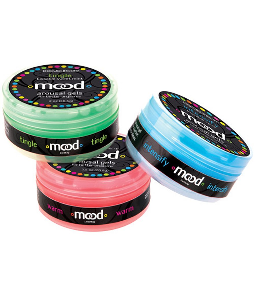 Mood Lube Kissble Foreplay Gels
