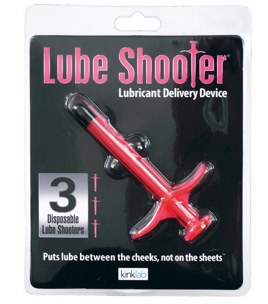 Lube Shooter Pink (3pk)