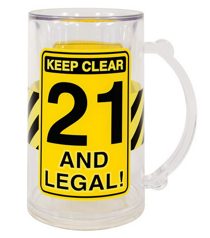 Keep Clear 21 & Legal Tankard