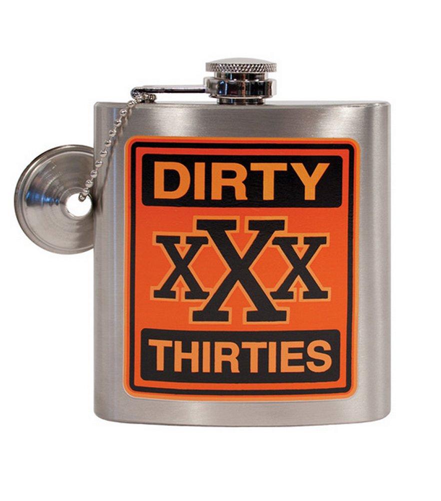 XXX Dirty Thirty Flask