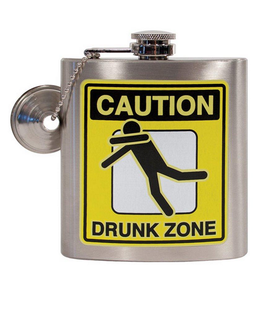 Drunk Zone Flask