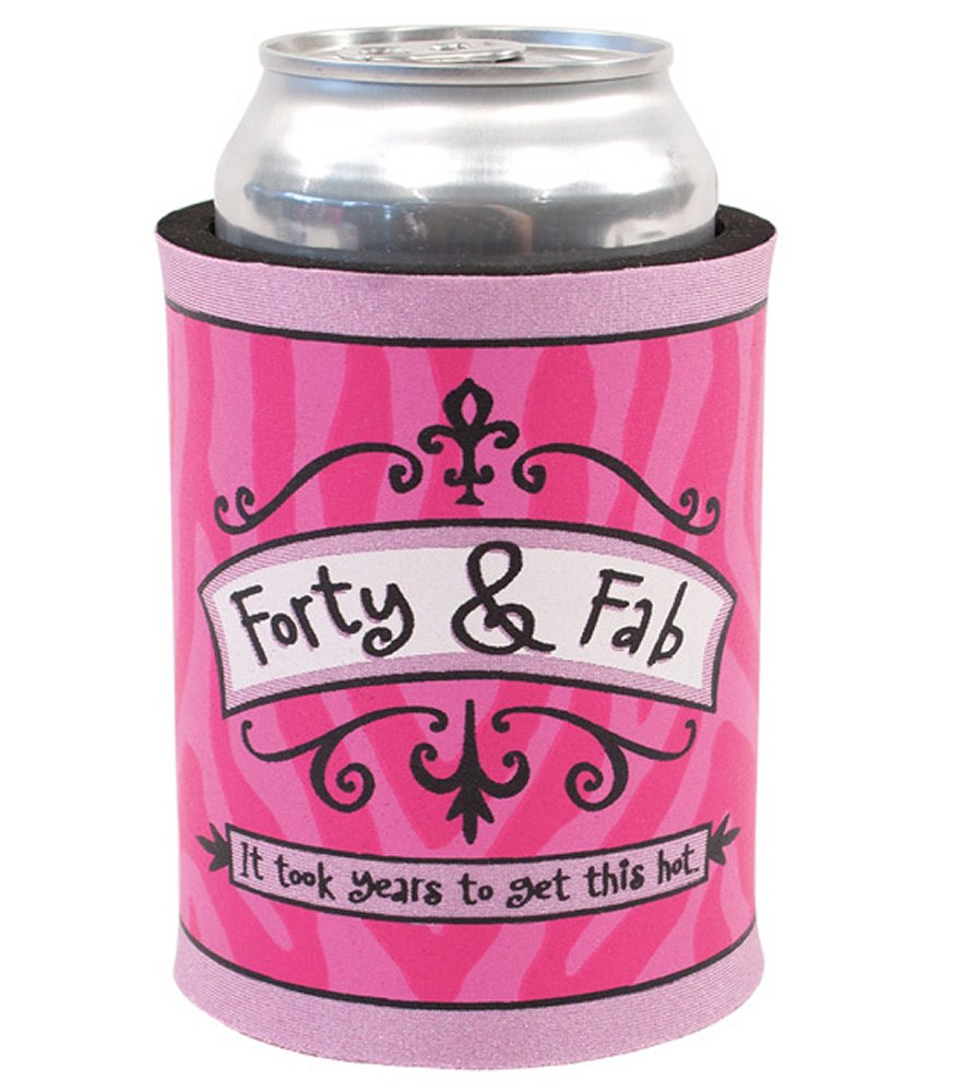 Forty & Fab Can Cooler
